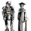 robot i student