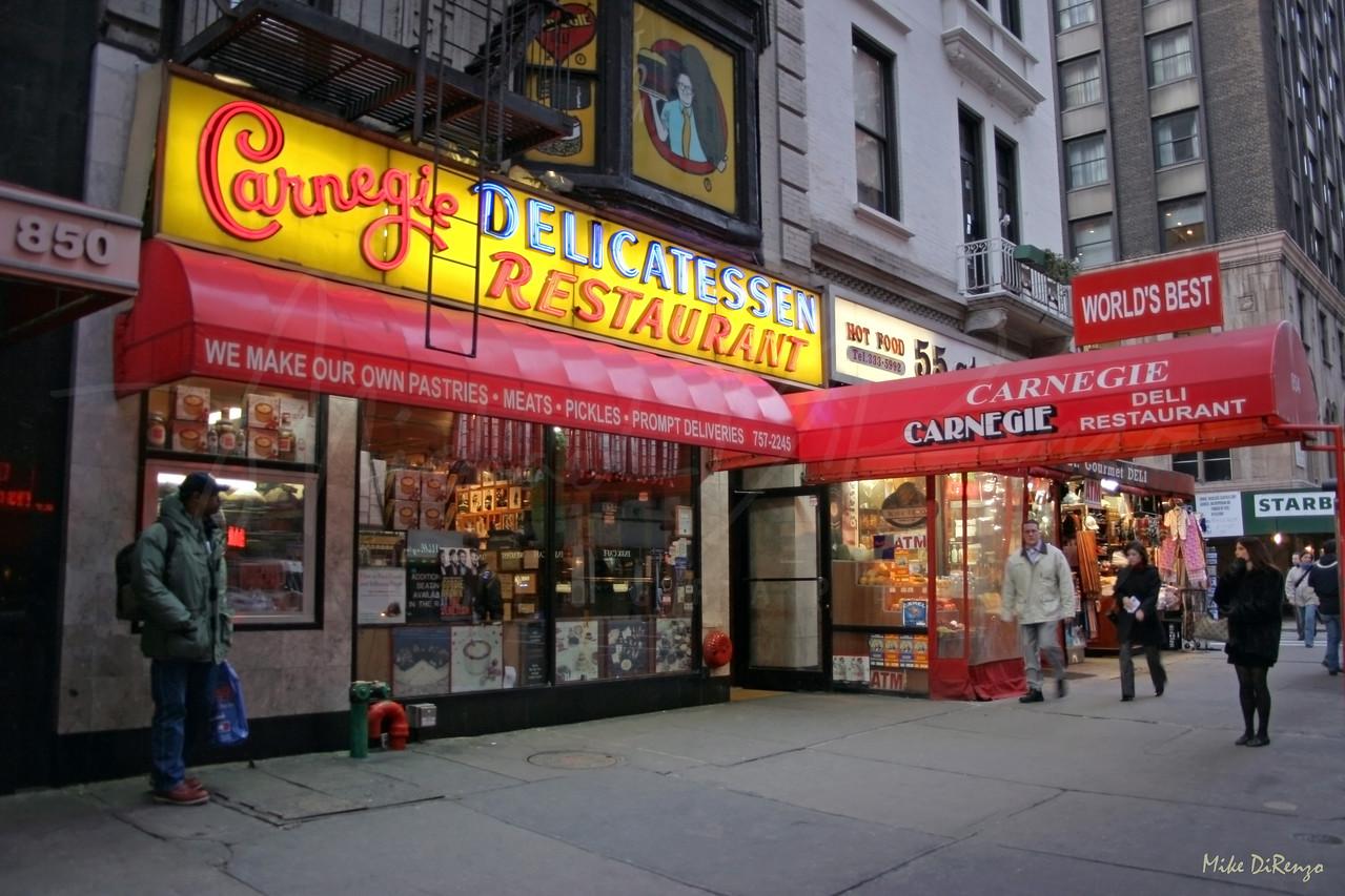 Carnagie Deli  2005
