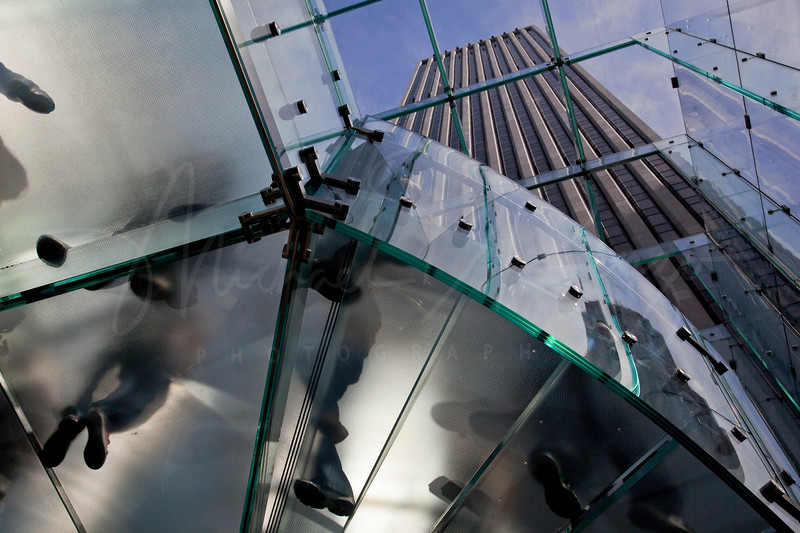 Glass Staircase - Apple Building  0109
