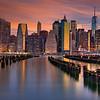 Manhattan at Dawn 6364 w40