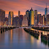 Manhattan at Dawn  6364  w61