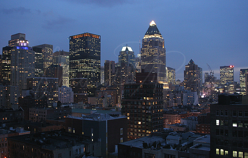 Manhattan Night Shot - w3
