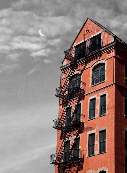 Red Brick and Stairs  41709