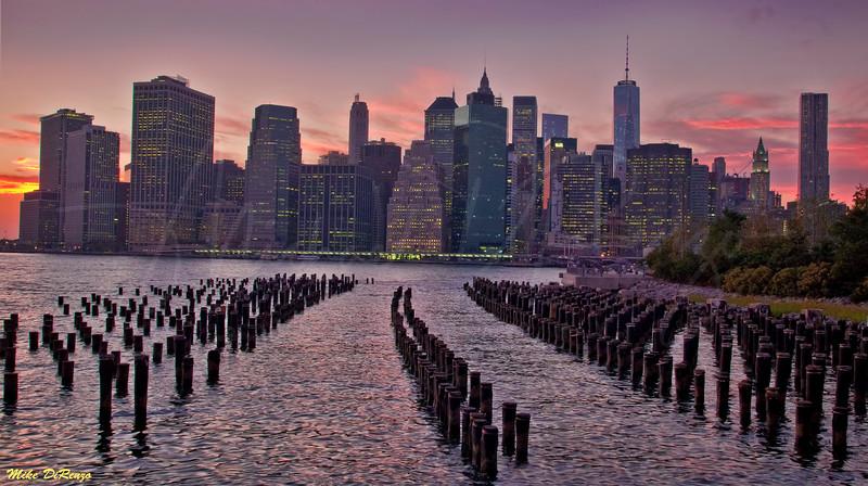 Manhattan Sunset 7570 w32