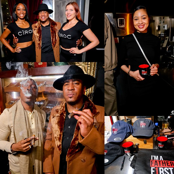 IM A FATHER FIRST PRESENTS & CIGAR & CONVO  @ TRILOGY CIGAR LOUNGE  12-12-18