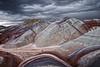"""PAINTER GONE MAD""  (Bentonite Hills, Capitol Reef NP)"