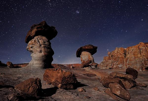 """""""FAR AWAY GALAXY"""" (Lonely Cliff, AZ)"""