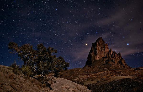 """NIGHT SENTINEL"" (Navajo Reservation, AZ)"