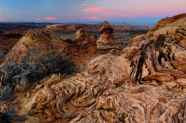 """WAX DRIPPINGS"" (Coyote Buttes South, AZ)"
