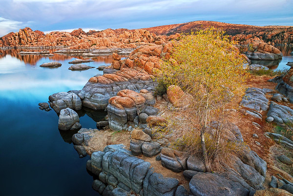 """FALL IN THE DELLS""  (Watson Lake, AZ)"