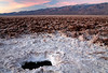 """""""SALTY SUNRISE"""" (Devil's Golf Course, Death Valley, CA)"""