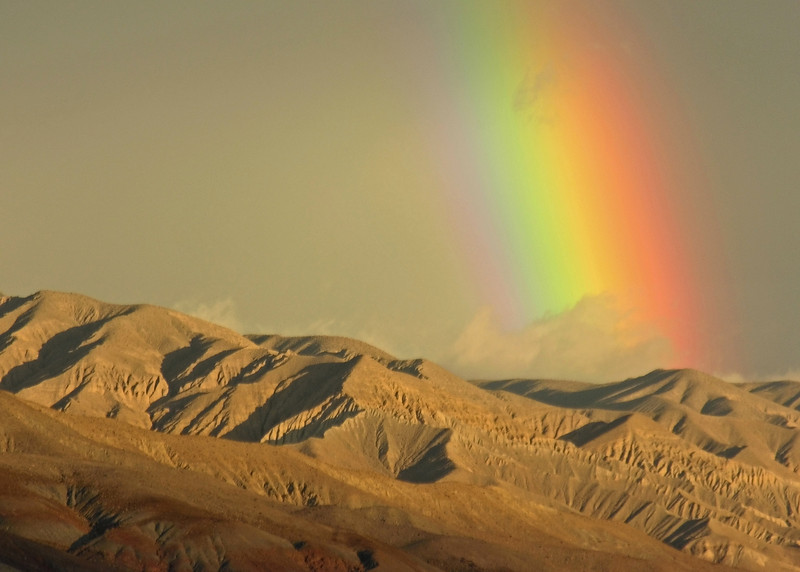 """ROY G. BIV"" - I'm not really sure where this is - somewhere between Sequoia NP and Death Valley (maybe the west side of the Panamints?)."