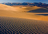 """PRISTINE"" (Death Valley NP, CA) - Patterns are formed in the dunes near Stovepipe Wells."