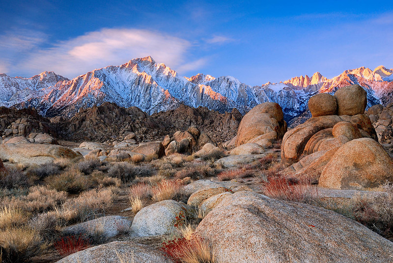 """TRANSITIONS"" (Alabama Hills, CA)"