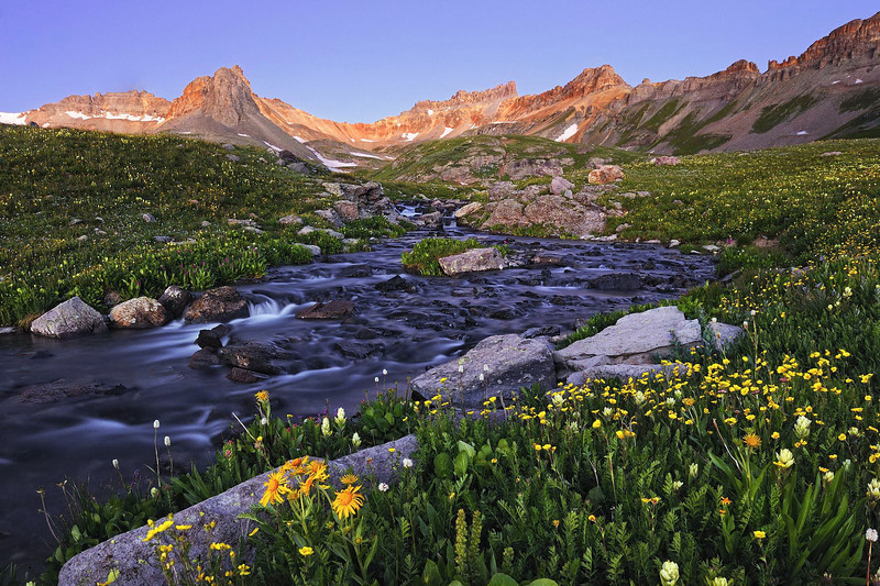 """STREAM OF LIFE"" (San Juan Mountains, CO)"