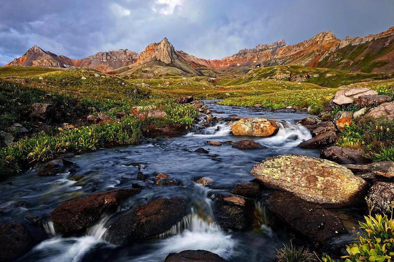 """""""DAWN IN THE BASIN""""(Ice Lake, CO)"""