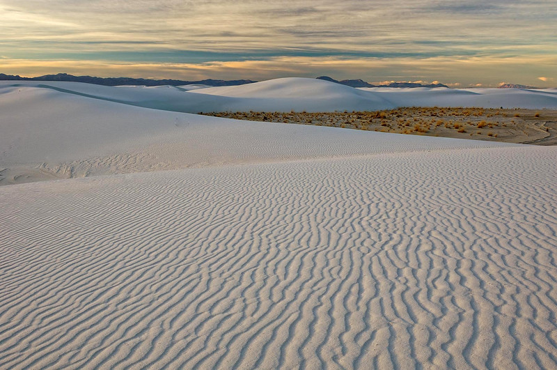 """LINE TO NOWHERE"" (White Sands, NM)"