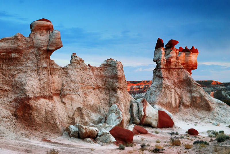 """THE FAIRY TALE"" - The miracle of erosion creates strange forms in this hidden canyon on the Hopi Reservation."