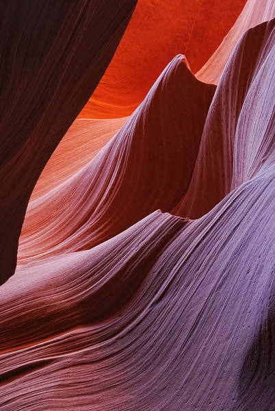 """SANDSTONE SURF"" (Lower Antelope Canyon, AZ)"