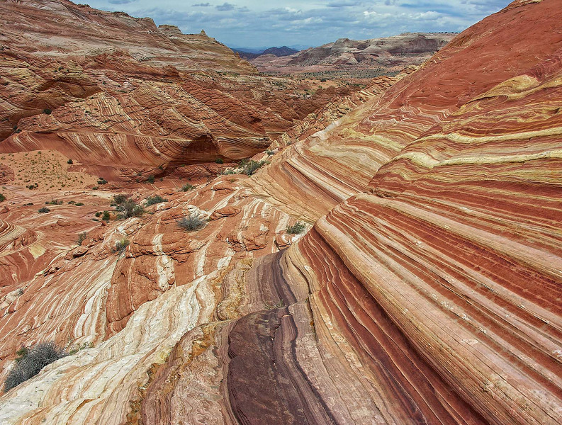 """ANOTHER PLANET"" - There is so much more to the Coyote Buttes area than The Wave. Everywhere you look there are amazing colors and patterns that seem to be imported from another planet."