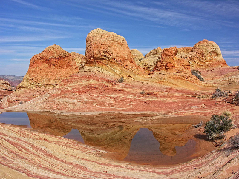 """BRAIN ROCK REFLECTION"" - The brain-like texture and other-worldly color of these formations are a sight to see."