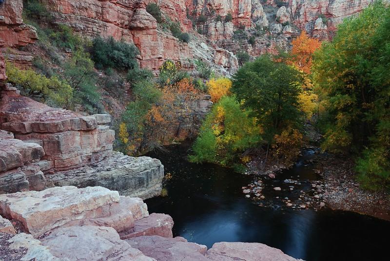 """DESERT OASIS AUTUMN"" (Sycamore Canyon Wilderness, AZ)"
