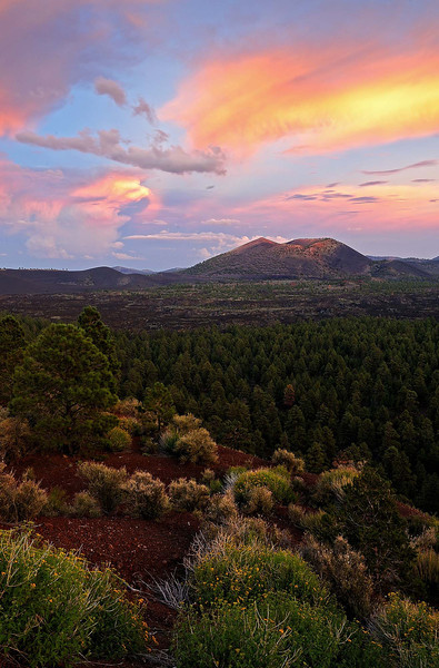 """SUNSET CRATER"""