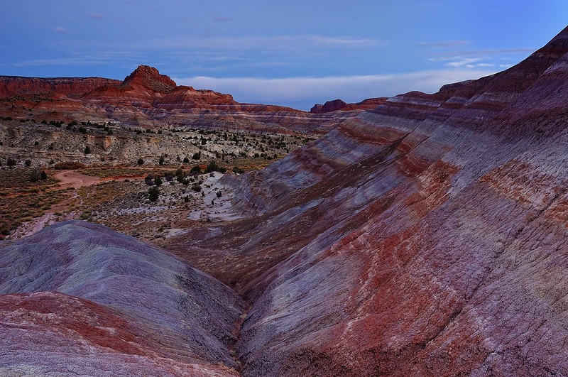 """PARIA BADLANDS LAYERS"""