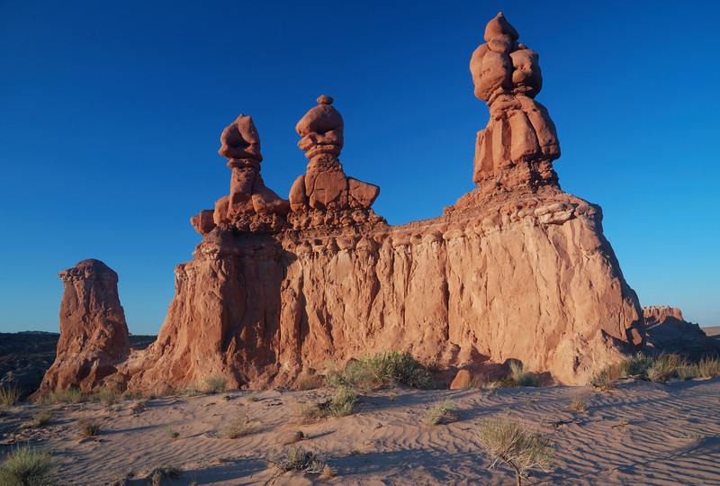 """STORM TROOPERS"" (Goblin Valley SP, UT) - Every time I see this formation I hear the ""Star Wars"" theme playing in my head."