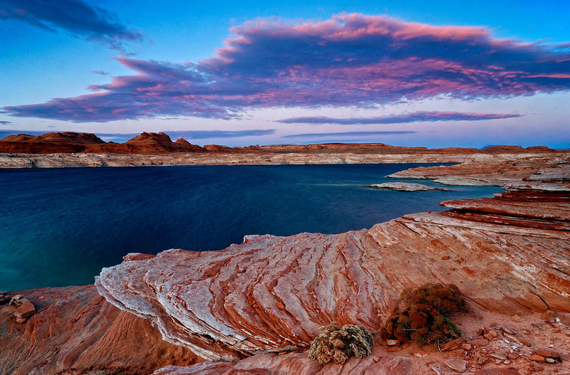"""LAKESIDE STROLL"" (Lake Powell, AZ)"