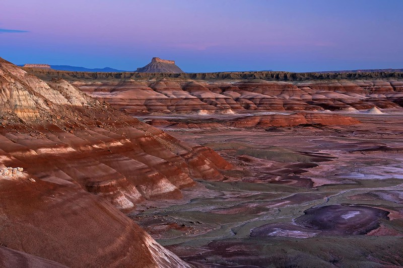 UTAH BADLANDS, FACTORY BUTTE