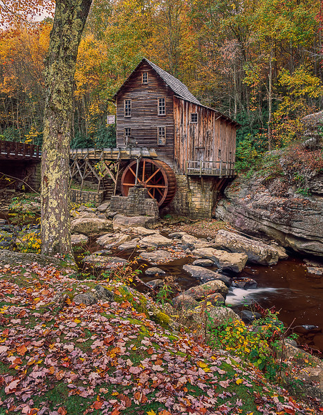 The GLADE CREEK MILL
