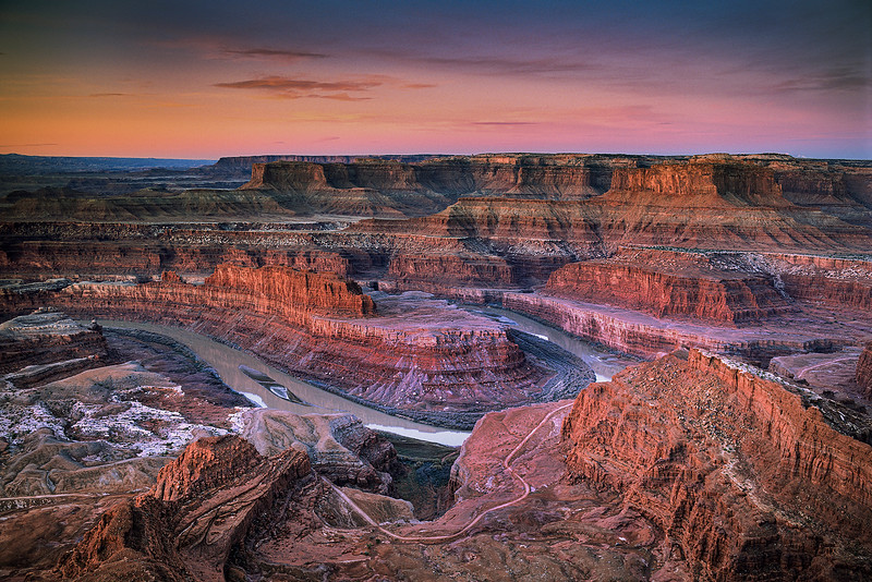 PREDAWN VIEW from DEADHORSE POINT