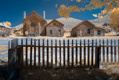 #39 Bannack Methodist Church Infrared