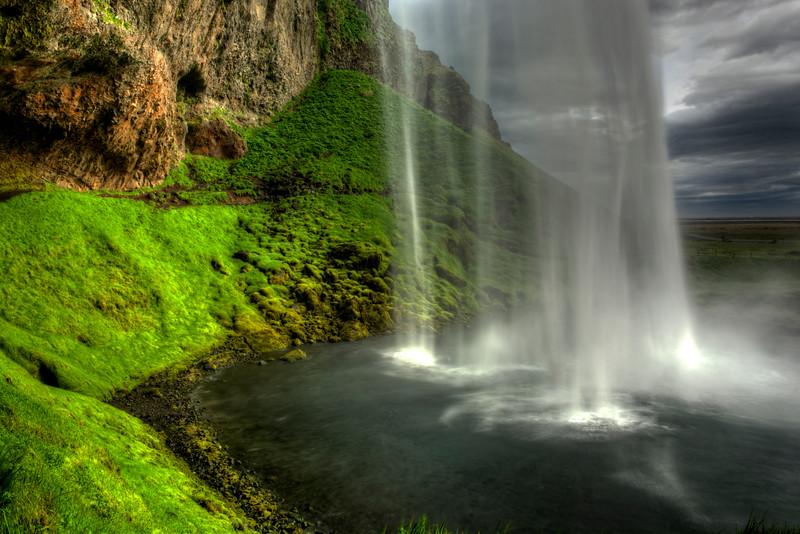 Seljalandsfoss Waterfall # 3,  Sudurlandsvegur, South Iceland