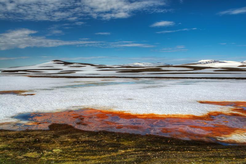 Sulphur,  East Fjords. Iceland