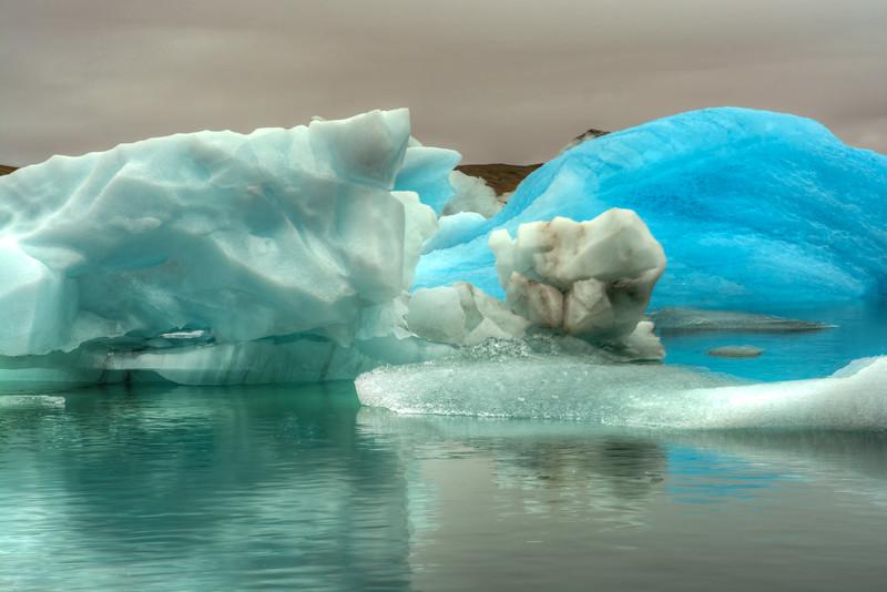 Icebergs # 5, Jokulsarlon Lagoon, East Iceland