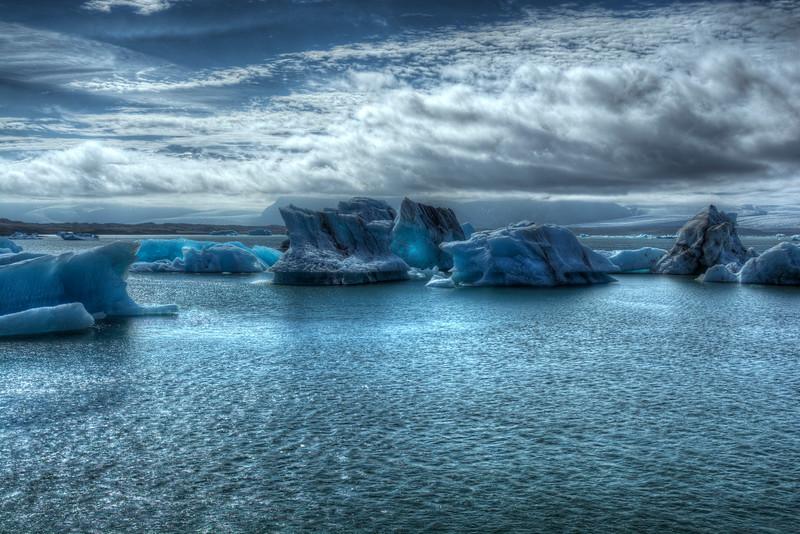 Icebergs # 1 Jokulsarlon Lagoon,  East Iceland