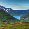 Valley Above Seyoisfjorour, East Fjords Iceland