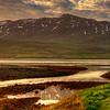 Dusk, South Iceland