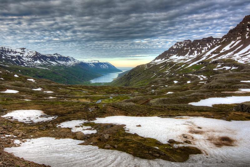 Mjoifjorour, East Fjords Iceland