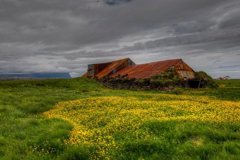 Abandoned Farm House, South Iceland