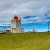 Lighthouse At Dyroholary, South Iceland