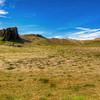 Two Rocks In Landscape, South Iceland