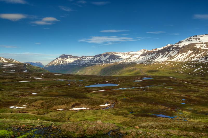Valley Landscape, Seyoisfjorour, East Fjords iceland