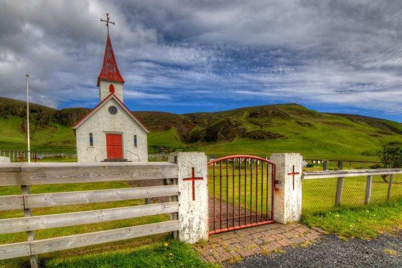 Reyniskirkja Church, Vik South Iceland, 1929
