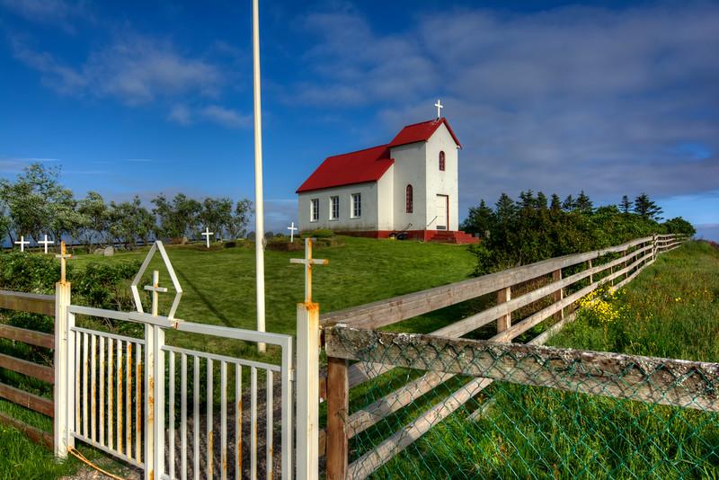 Brunnholskirka Church, South Iceland
