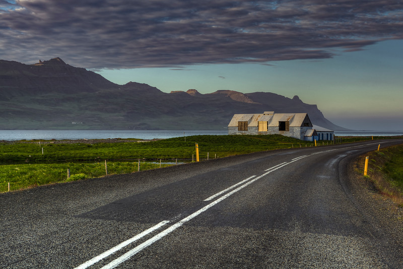 Abandoned Farm, Route-1,  East Fjords Iceland