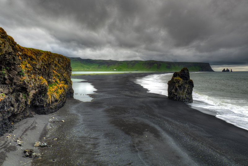 Black Sand Beach, Vik, South Iceland