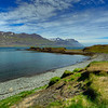 Lake, East Fjords, Iceland